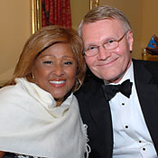 Ralph Rood with Darlene Love
